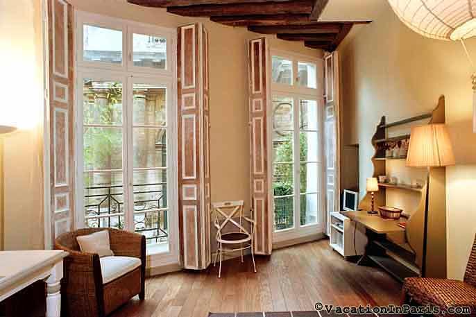 Saint Honore-Louvre One Bedroom - Image 1 - Paris - rentals