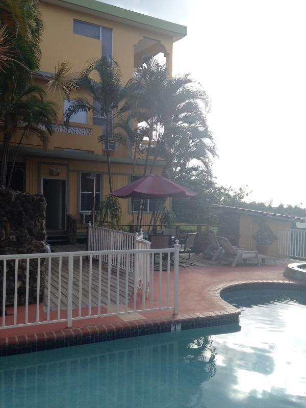Entrance & Pool - Gorgeous Surf Getaway - Rincon - rentals