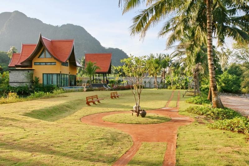 Villa Chaba Garden - Tha Lane Bay Villa; Villa Chaba - Krabi - rentals