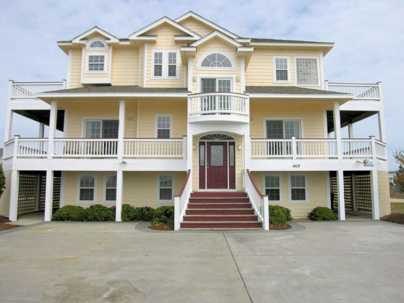 Front Elevation - Bella Vista - Corolla - rentals