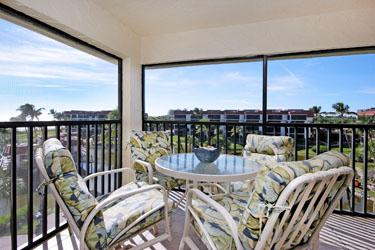 VIEW FROM LANAI - Pointe Santo D46 - Sanibel Island - rentals