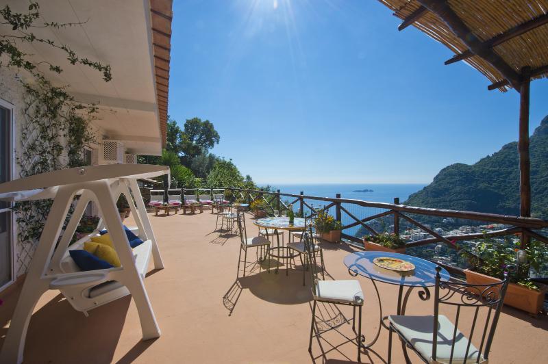 terrace - Villa Clementina - reigning over Positano - Positano - rentals