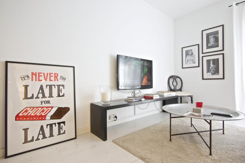 Living Room - White Flat G43 - Barcelona - rentals