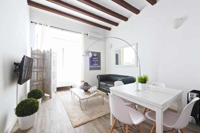 Living Room - White Flat B31 - Barcelona - rentals