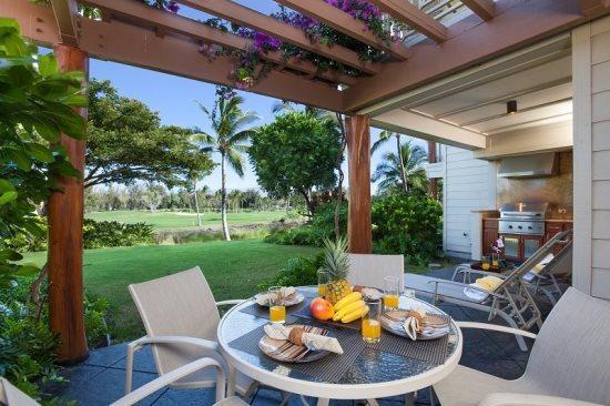 Relaxing golf course view - Waikoloa Beach Villas H1 - Waikoloa - rentals