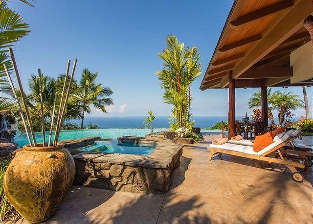 Aloha Place - Luxurous3 Bedroom, 3 Bathroom Home with Spectacular Ocean Views-PHAloha - Image 1 - Kona Coast - rentals