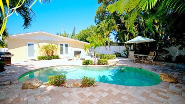 Pool 1 - COZY COTTAGE - Anna Maria - rentals