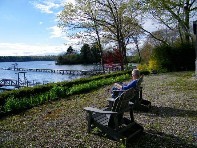 This could be you... - FAIRVIEW | BOOTHBAY MAINE | SALT WATER RIVER | DOCK & FLOAT | SLEEPS SIX - Boothbay - rentals
