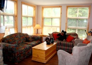 Living Room - Crystal Forest Condos - 42 - Sun Peaks - rentals