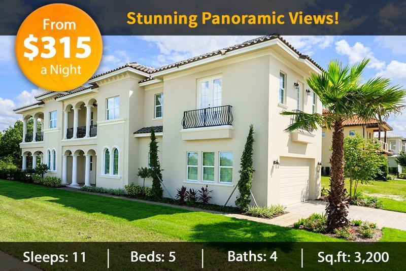 Exterior of Villa - Fairway Ridge Villa - All Brand New 5 Bed Luxury Reunion Resort Villa with Pool - Reunion - rentals