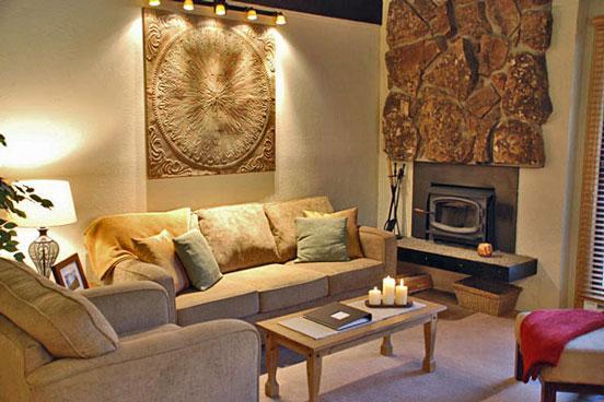 Living Room - Storm Meadows C320 - 320 Storm Meadows Club C - Steamboat Springs - rentals
