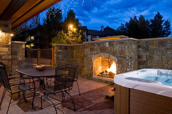 Bear Lodge Patio - 6112 - 6112 Bear Lodge, Trappeurs - Steamboat Springs - rentals