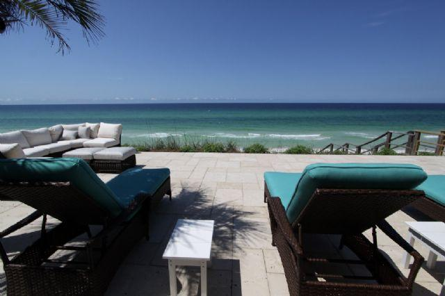 Gulf Front Deck - Great for Weddings! - Fountain Blue - Seagrove Beach - rentals