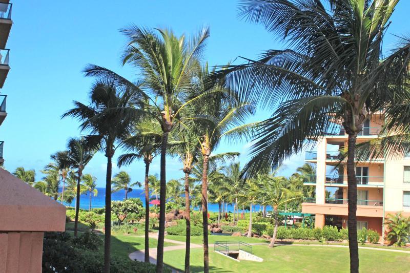 Beautiful ocean views from your expansive 1100sq ft lanai - Honua Kai #HKH-236 Kaanapali, Maui, Hawaii - Ka'anapali - rentals
