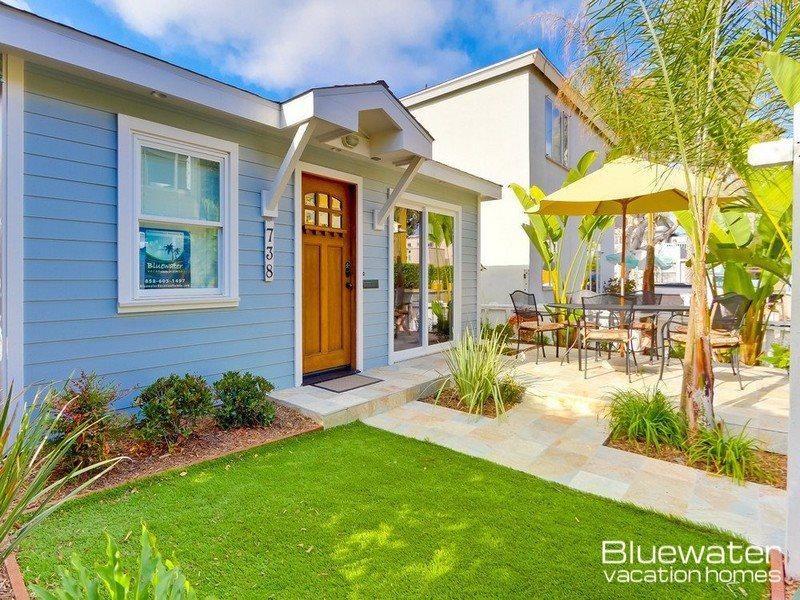 Seascape South Mission Beach Cottage - Image 1 - Pacific Beach - rentals