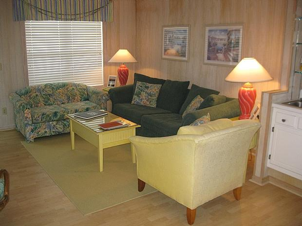 living area - Starboard by the Sea 266-6B - Jolly - Ocean Isle Beach - rentals