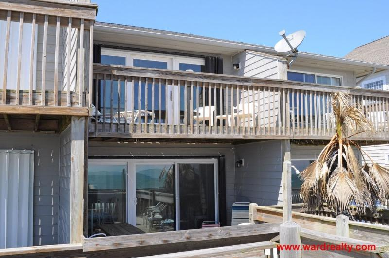 Oceanfront Exterior - Luna Sea - Surf City - rentals