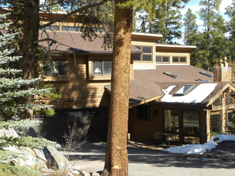 Front of house - Country Mountain House in-town home, ski-in - Breckenridge - rentals