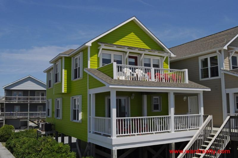 Oceanfront Exterior - My Island Retreat - Surf City - rentals