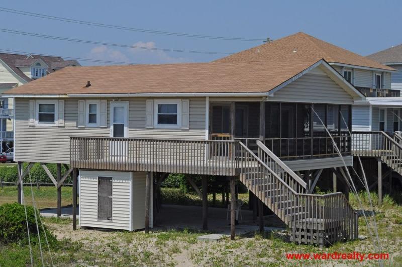 Oceanside Exterior - Spence - North Topsail Beach - rentals