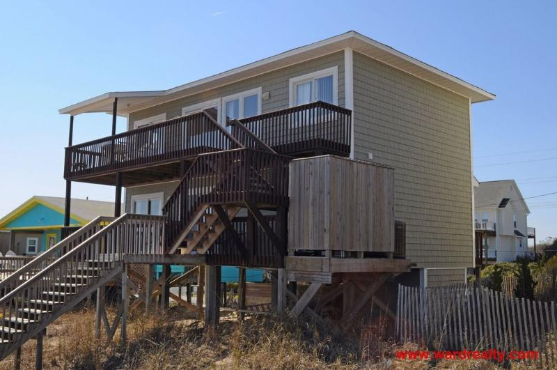 Salty Kisses Oceanfront Exterior - Salty Kisses - Surf City - rentals