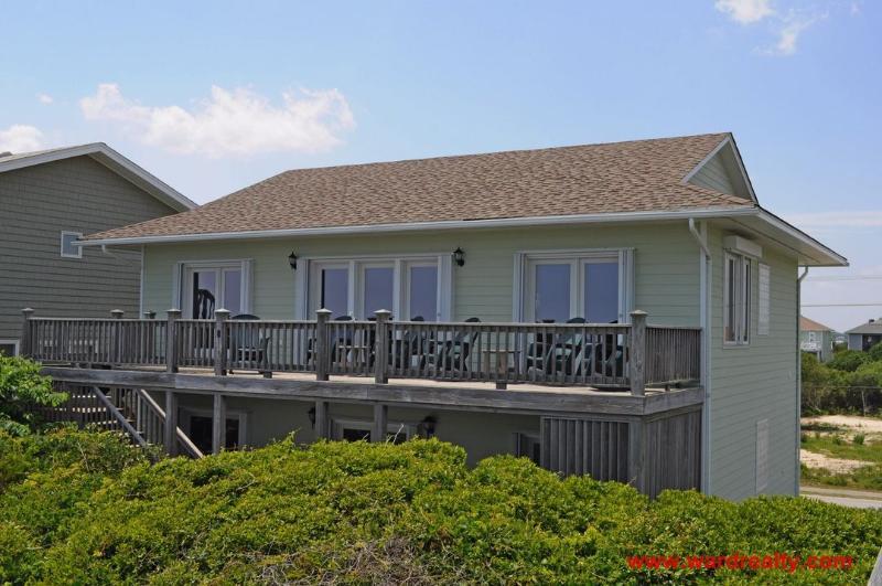 Oceanfront Exterior - Dettor - Topsail Beach - rentals