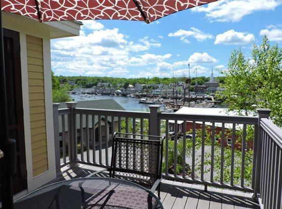 Deck Views of Camden Harbor - SCHOONER VIEW - Town of Camden - Camden - rentals