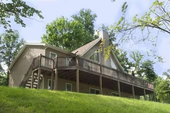 Vflyer lakeview side - Vflyer is a spacious Lakeview Vacation Home at Deerfield Resort on Norris Lake. - Norris - rentals