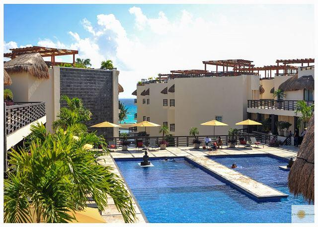 ALDEA THAI -just steps from Mamitas Beach- Beautiful Condo with Private Pool - Image 1 - Playa del Carmen - rentals