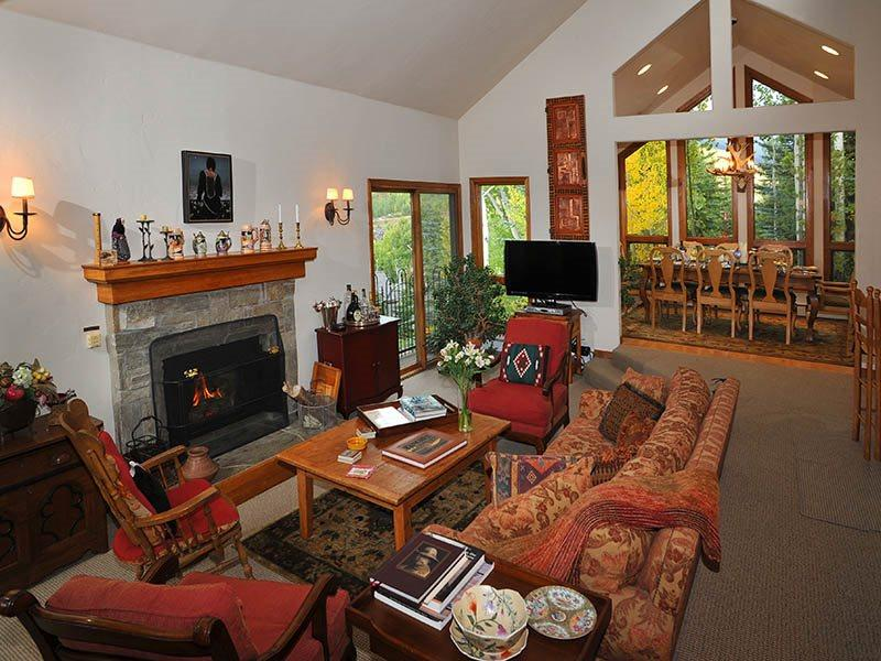 Living Room - Forest-Road - Vail - rentals