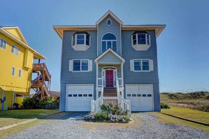 3060 Island Dr - Island Drive 3060 Oceanfront!   Fireplace, Internet - North Topsail Beach - rentals