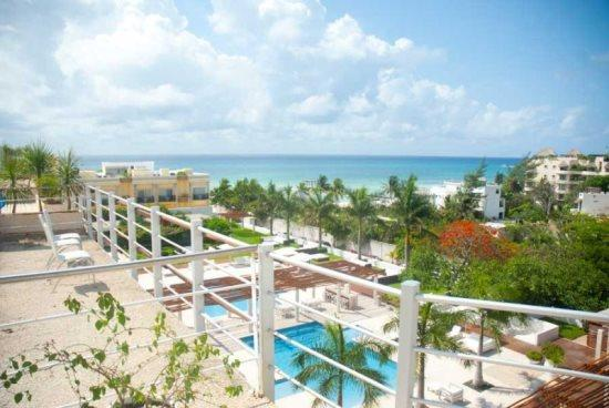 Playa del Carmen condos - view from the terrace - PH Magia Sunset - Magia PH Sunset - Playa del Carmen - rentals