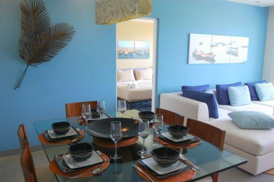 Nick Price Albatross - Dining room area - vacation rentals Playa del Carmen - Nick Price Albatross - Playa del Carmen - rentals