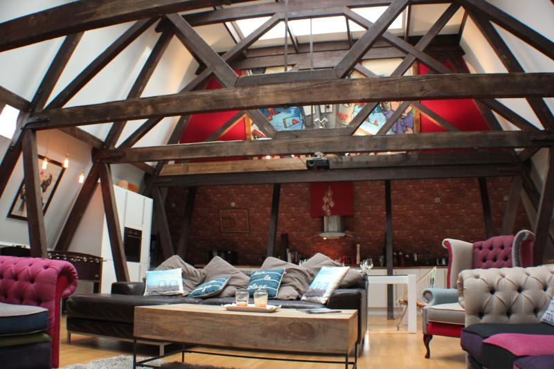 Living area - Hove Penthouse - Hove - rentals