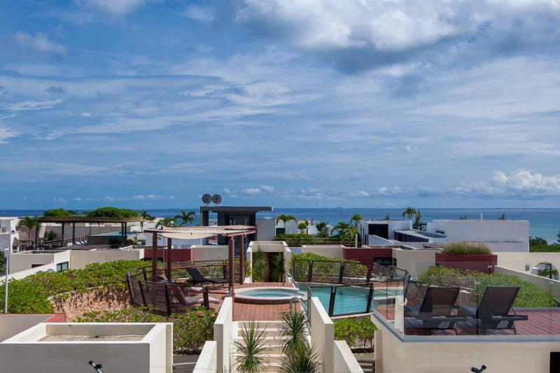 Modern Apartment with Pool near the beach - Image 1 - Riviera Maya - rentals