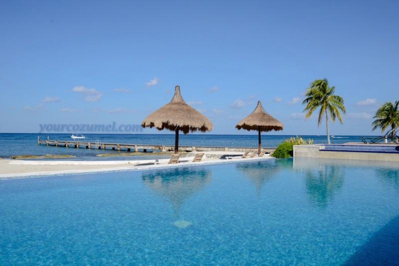 Pool view - Villa El Milagrito Perfect Getaway for Divers! - Cozumel - rentals
