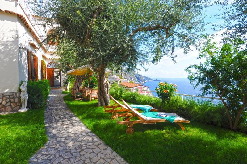 Villa San Giovanni - Garden and Sea View - Image 1 - Praiano - rentals