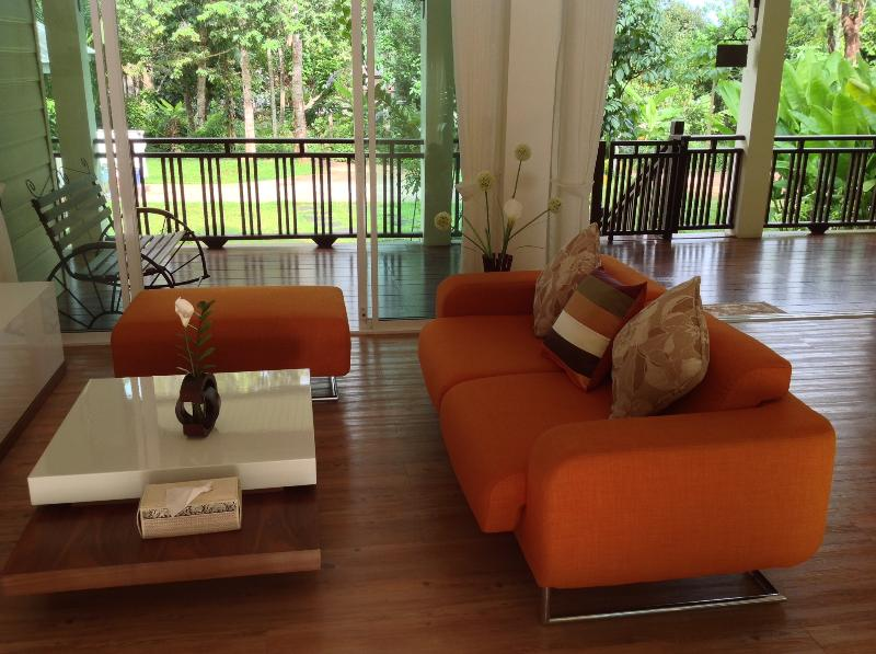 Living room open to the garden - The Hillside of Krabi - Krabi - rentals