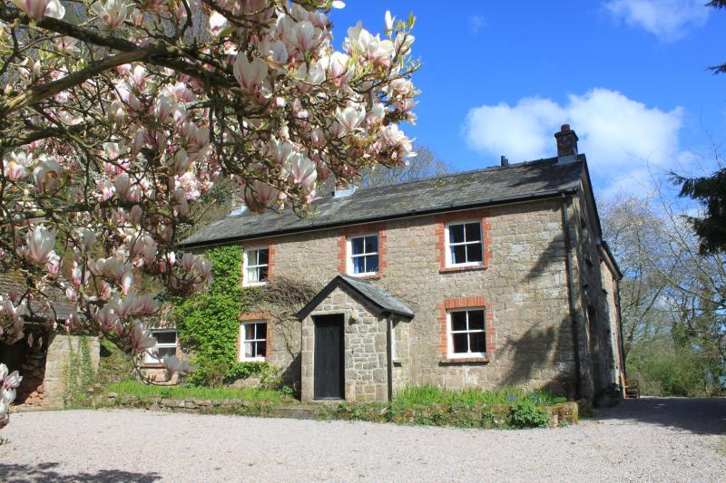 Church Hill Farm with Magnolia in Flower - Church Hill Farm, Penallt, Monmouth - Penallt - rentals