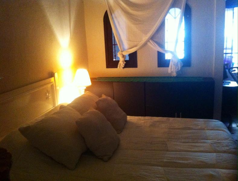 The sleeping area features a full size bed - Apartment by the beach, so cozy! - Puerto Vallarta - rentals