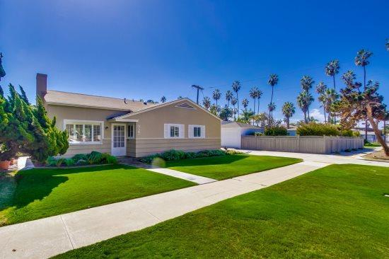 San Diego vacation home with beautiful front yard. - Braemar Beach House - Pacific Beach - rentals