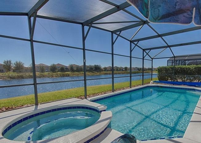LAKE FRONT! SOUTH POOL/SPA 6 Bdrm/4 Bath 9mls 2 DW - Image 1 - Clermont - rentals