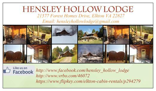 HENSLEY HOLLOW LODGE - Image 1 - Elkton - rentals