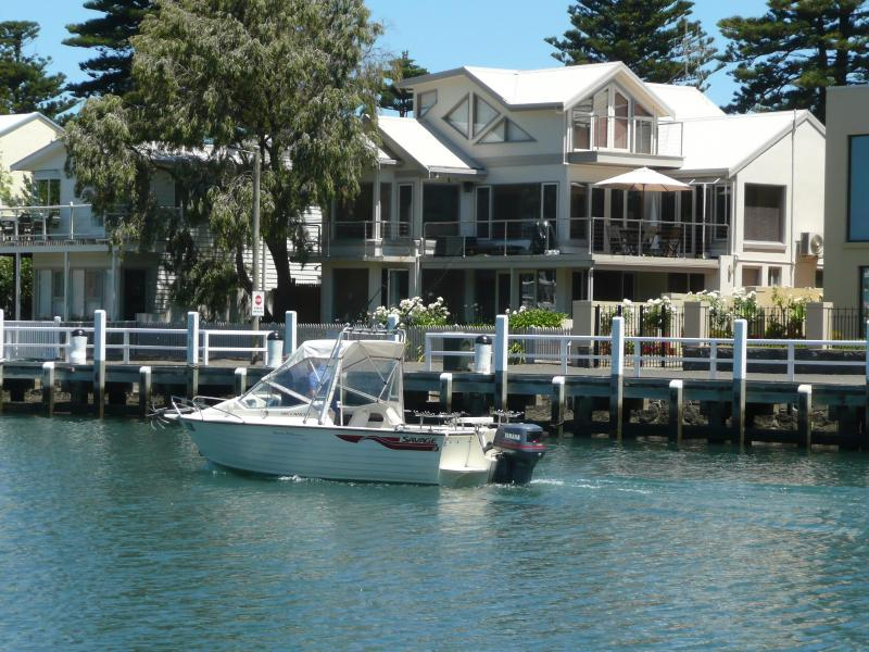 view of the apartment - Moyne Wharf Apartment- absolute river frontage. - Port Fairy - rentals