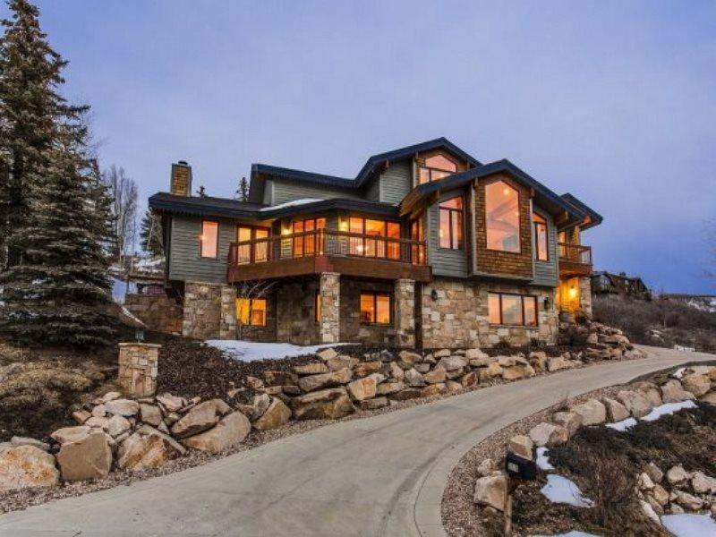 Luxury Private Retreat in Solamere Neighborhood  - White Oak Haven in the Solamere Community at Deer Valley Resort with Private Hot Tub - Park City - rentals