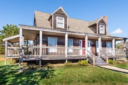 CONTEMPORARY FARMHOUSE AND GUEST HOUSE NEAR LONG POINT - EDG PPAN-23 - Image 1 - Martha's Vineyard - rentals
