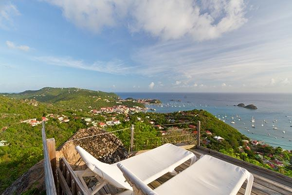 Charming island style villa with lush gardens and a harbor view WV LED - Image 1 - Colombier - rentals