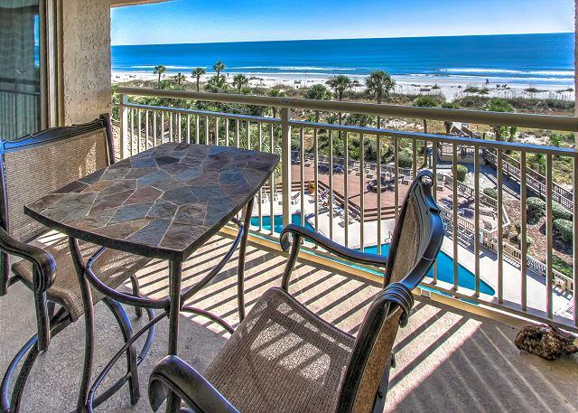View - 454 Captains Walk - Oceanfront 5th Floor - Its all about the View. - Daufuskie Island - rentals