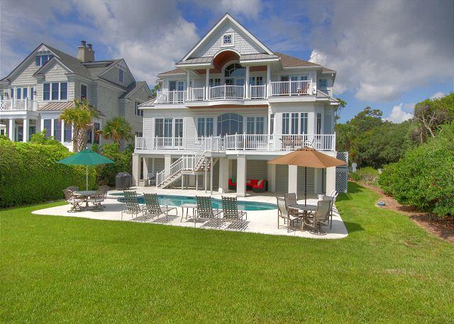 Exterior - 33 Dune Lane-Oceanfront-  Fall weeks available: - Hilton Head - rentals