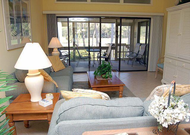 Living Area - 564 Ocean Course - Hilton Head - rentals